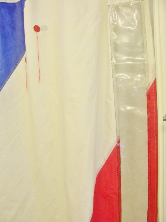 28+ [ sailcloth shower curtain ] | recycled sailcloth shower
