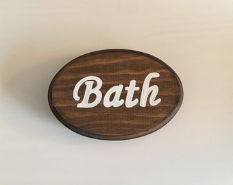 Adorable Bath Sign (5x7)