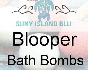 Bath Bombs - Surprise Bath Bombs - Bath Fizzy - Bath Fizzers - Handmade Bath Bombs - Bath Products - Bath Fizzies - Oops Bath Bombs