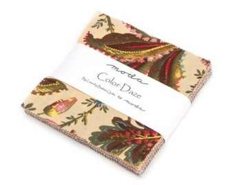 Color Daze Charm Pack by Laundry Basket Quilts for Moda