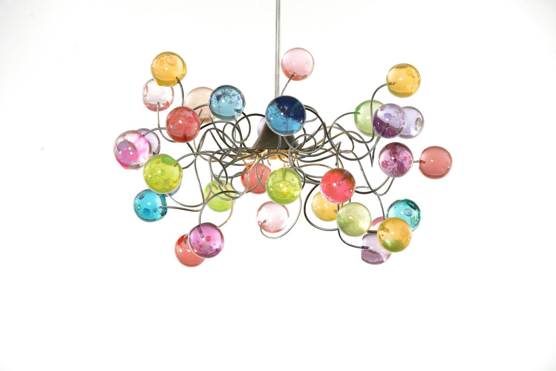 Lighting Ceiling Light Pastel Color Bubbles For Girls