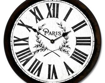 Simply Paris Wall Clock