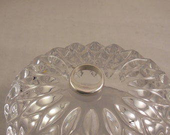 Silver lost wax cast ring size 8