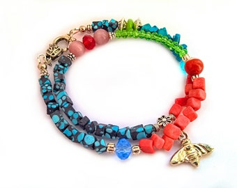 Coral Beads Bracelet