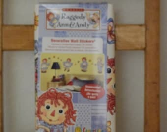 Raggedy Ann and Andy Decorative Wall Stickers
