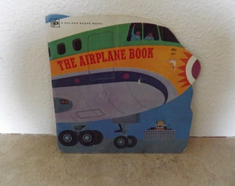 Golden Shape Book The Airplane Book