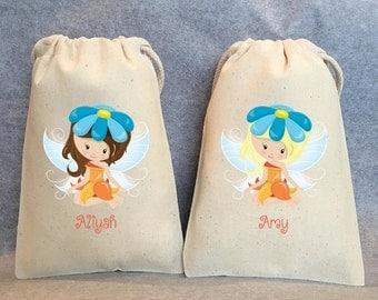 """16- Fairy, Fairies, Fairy Party, Fairy Party Favor, Fairy Birthday, Fairy party favor bags, 5""""x8"""""""