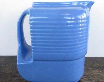 1930s Halls Pottery Westinghouse Refrigerator Water Pitcher
