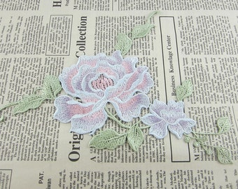Embroidered Flower Appliques
