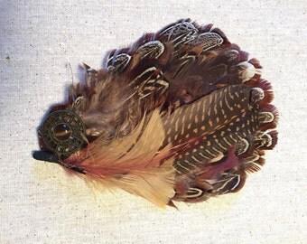 Bohemian Feather Hair Piece
