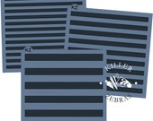 "Stripes 5.5"" x 5.5"" Stencil"