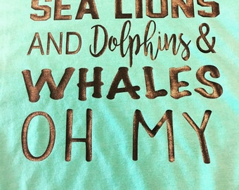 Sea World inspired shirt