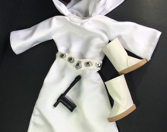 Star Wars, Leia, Princess Leia Doll, Princess Leia Costume, Blaster, Star Wars Doll