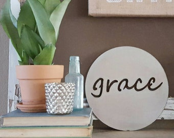 10 inch grace sign