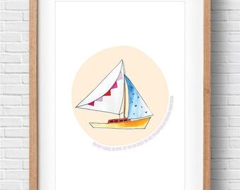 Sailboat Print – Printable