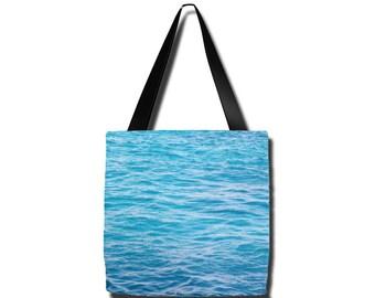 Tropical Sea tote bag, Australia, Grocery sack, teacher tote, gym bag, beach bag, yoga gear, diaper bag, mothers day, gifts, birthday, Mom