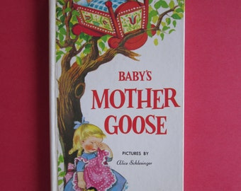 Baby's Mother Goose Pictures By Alice Schlesinger 1980
