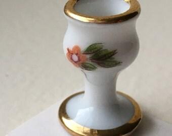 "Dollhouse Miniature Limoge Vase 1"" scale.  (JL)"