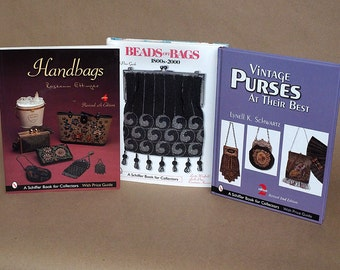 Beaded-Bag and Antique Purse Reference Books With Pricing Guides