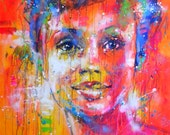 Nice day -  Giclée art print on Canvas