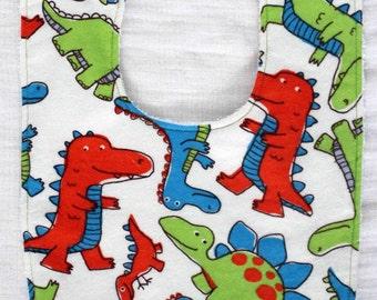 Dinosaurs Bib