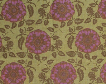 "Raoul Textiles ""Marbella"" Hand Printed Linen Drapery Panels'"