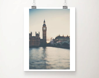 london photograph big ben photograph westminster photograph london print houses of parliament travel photography river thames photograph