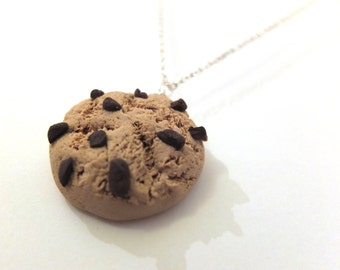 cookie charm necklace
