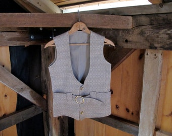 Vintage Fitted Vest