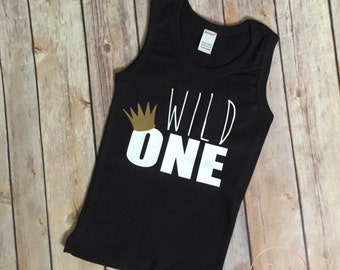 Wild One Tank, Wild One Tee, Where the wild things are, Wild Party, First Birthday Shirt, First birthday party, Wild things theme