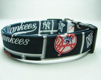 NY Yankees Dog Collar