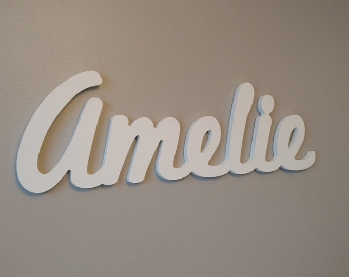 Custom Children's Wall Names. Baby names decor, Wooden wall names. kids personalized name signs