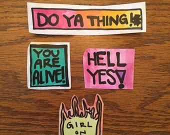 Motivation! Sticker Set