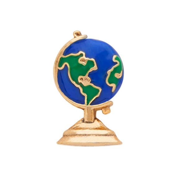 World globe charms,   living lockets,  fits most lockets, living lockets, Jewelry supplies. Silver tone.