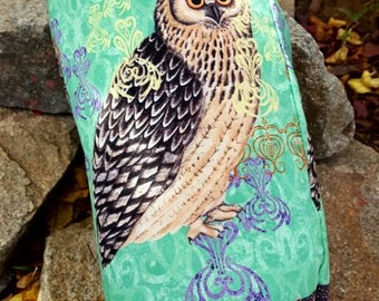 Owl Plastic Bag Holder, Wildlife  Grocery Bag Dispenser,  Shopping Bag Keeper