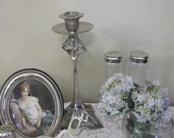 SALE Fabulous Art Nouveau Arts & crafts style  Candlestick