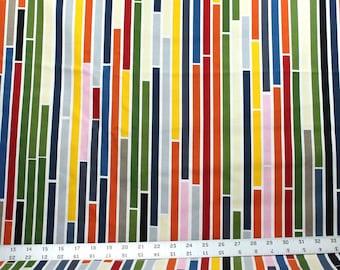 Multiple Color Stripe Canvas Fabric - IKEA Home Decor Fabric - Design S Edholm and L Ullenius