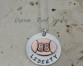 Favorite Football Player Necklace