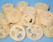 Loofah  Slices-Spa Accessories.