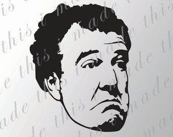 Jeremy Clarkson Sticker - Top Gear Vinyl Decal