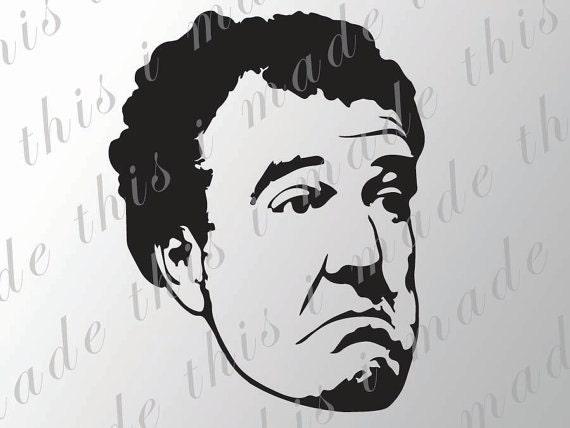 Jeremy Clarkson Sticker - Top Gear Vinyl Decal