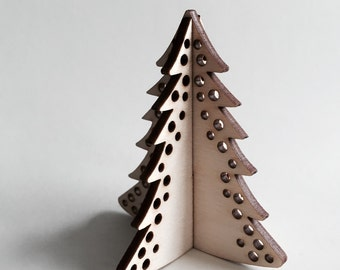 Laser Cut Trees (Pack of 3)