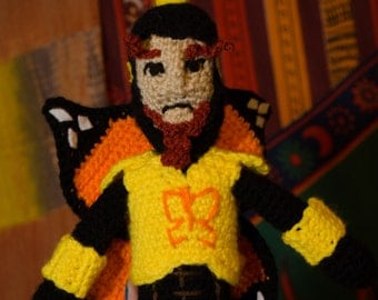 "Venture Brothers the Monarch 12"" crochet doll"