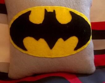 Batman & Robin mini pillow