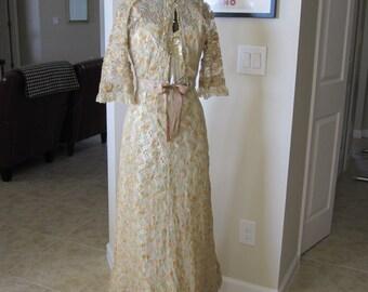 PASTEL ANTIQUE LACE Gown