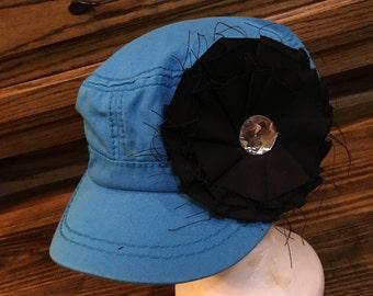 Flower cadet cap