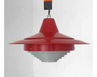 Rare Simon Henningsen lamp, designed for Copenhagen Tivoli in the fifties
