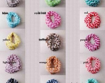 chevron zig zag stripe BABY INFANT Scarfs!!  fashion scarf infinity circle