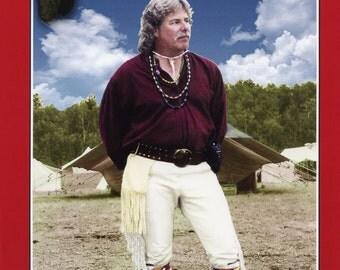 Missouri River Mountain Man Rendezvous Buckskin Pants Sewing Pattern Waist sizes 30-42
