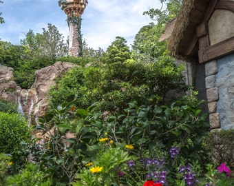 Rapunzel Tower - Daytime - Print or Vivid Metal